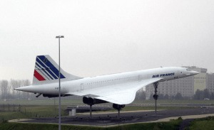 Concorde exposé sur l'aéroport de Roissy - Remi Jouan