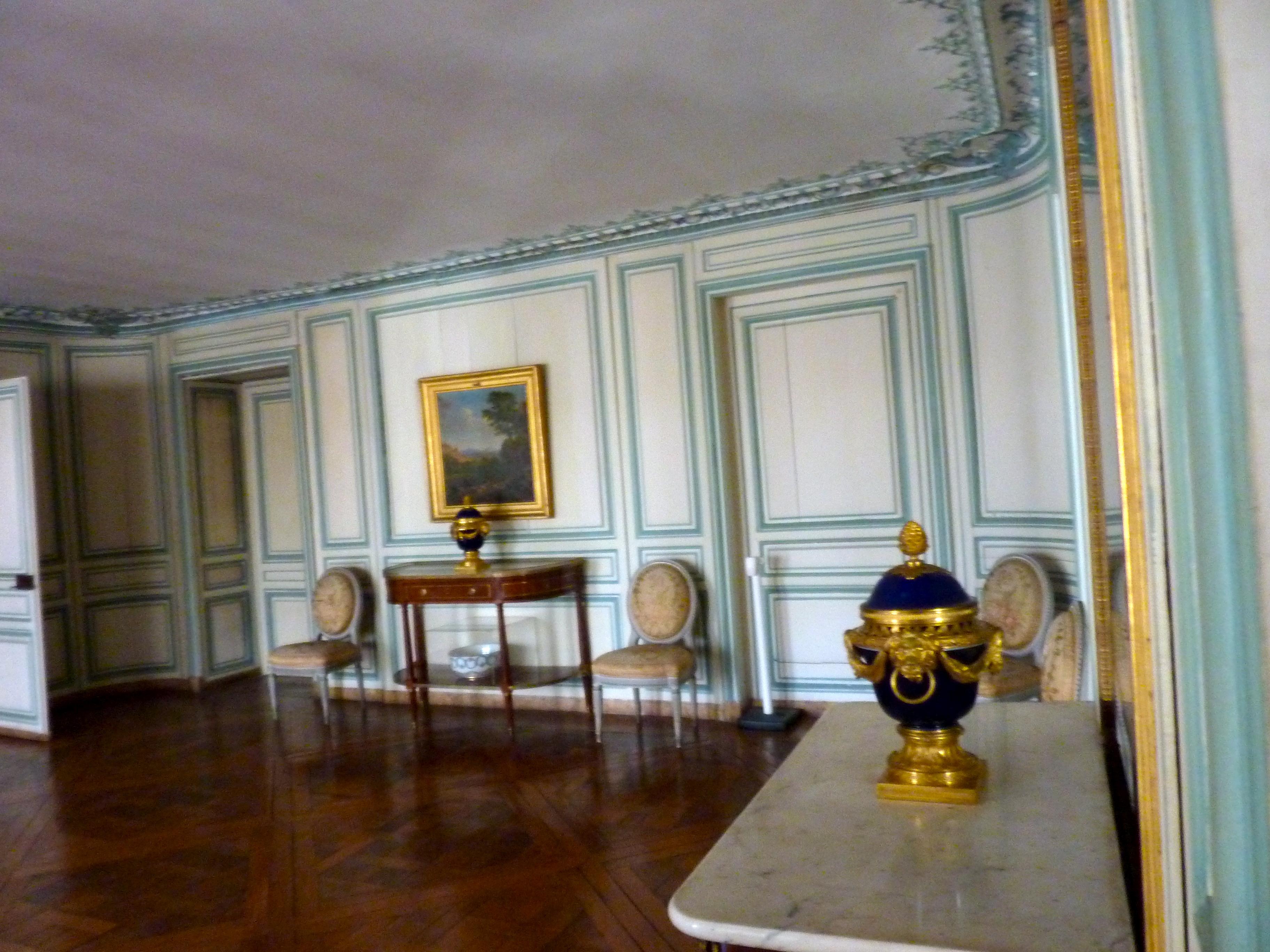 """Résultat de recherche d'images pour """"la salle à manger de l'appartement de Madame du Barry"""""""