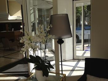 Entrée de l'hôtel Tous droits réservés Michele LALLEE-LENDERS Cliquer pour agrandir