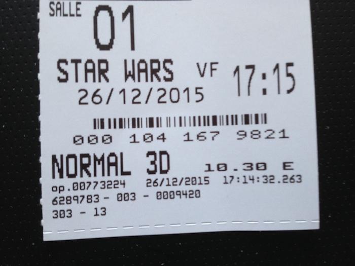 Star Wars - La force s'est réveillée avec Disney !